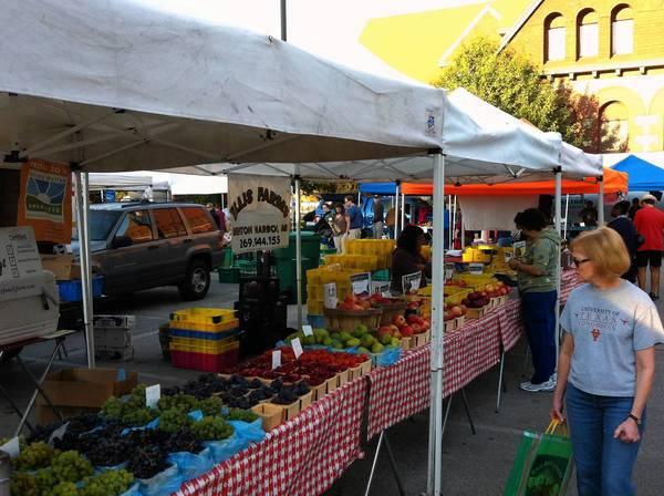 The Oak Park farmers market will open May 18.