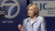 "City Controller Wendy Greuel, whose campaign for Los Angeles mayor had been dramatically out-spending rival Eric Garcetti, <a href=""http://ethics.lacity.org//PDF/Election/2013Municipal/CA497//Greuel,%20Wendy-General%205.4.13.pdf"">loaned</a> her campaign $100,000, according to documents filed with the City Ethics Commission over the weekend."