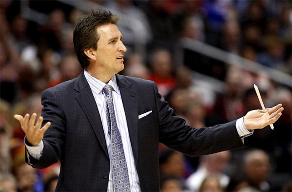 Vinny Del Negro has a record of 128-102 as coach of the Clippers.