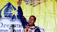 Had the rain lingered a bit longer in central Alabama, Bob Jenkins and his Front Row Motorsports team might still be looking for their first win in NASCAR's Sprint Cup Series.
