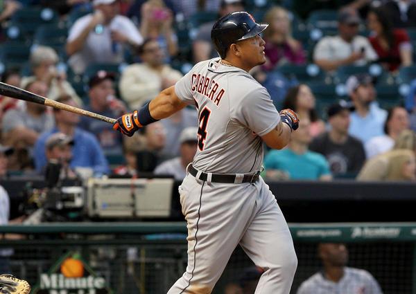 Tigers slugger Miguel Cabrera.
