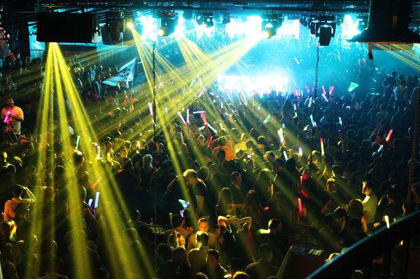 Photo from the popular EDM club Vanguard, which is now a partnership with Insomniac called Create.