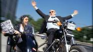 Peter Sagal on his new show, motorcycles