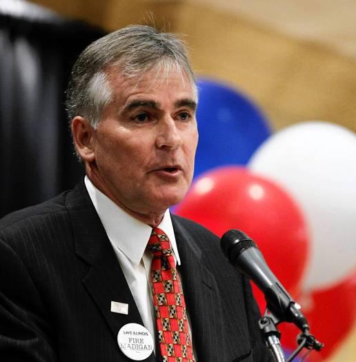 Illinois Republican chairman Pat Brady