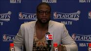 "<span class=""inhed"">Video:</span> 'They ground and won it' - Dwyane Wade on Game 1"
