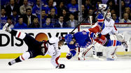 Derek Stepan and Arron Asham scored tiebreaking goals in the third period for the New York Rangers in a 4-3 victory over the Washington Capitals in Game 3 of their Eastern Conference playoff series Monday night at Madison Square Garden.
