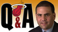 <strong>Q: After watching Game 1, it showed the Heat will lose this series. They are getting out-rebounded, can't score on them, and can't stop Nate Robinson's pick-and-roll. I mean they lost to a team that doesn't have players to play. Now that Kirk Hinrich and Luol Deng will come back this series is pretty much over. What's your take? --Shawn.</strong>