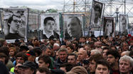 Thousands in Russia demand new elections, release of prisoners