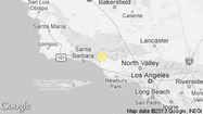 A shallow magnitude 1.4 earthquake was reported Tuesday morning three miles from Meiners Oaks, according to the U.S. Geological Survey. The temblor occurred at 2:06 a.m. PDT at a depth of 6.8 miles.