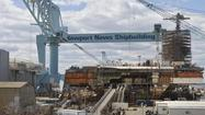 The Gerald R. Ford aircraft carrier is rescheduled for a launch in November instead of July as originally planned, the Daily Press reported.