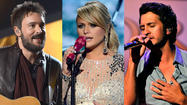 "<span style=""font-size: small;"">Eric Church, Luke Bryan and Miranda Lambert lead the nominations for the upcoming 2013 CMT Music Awards with four each. First-time nominees Florida Georgia Line picked up three nominations along with Kenny Chesney, Jason Aldean and Rascal Flatts. Voting for the CMT Music Awards is underway now at CMT.com and continues through Sunday, June 2nd at midnight Eastern. The 2013 CMT Music Awards airs on Wednesday, June 5th at 8PM Eastern on CMT andCMT.com and is hosted by Kristen Bell and Jason Aldean. For a complete list of nominees go <a href=""http://www.eonline.com/news/415155/2013-cmt-music-award-nominations-miranda-lambert-eric-church-and-luke-bryan-lead-field"">here</a>.</span>"
