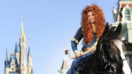 "Merida, the young heroine in the Disney-Pixar film ""Brave,"" is joining the official ranks of Disney Princesses, and Walt Disney World is marking the occasion with a brief ceremony at Magic Kingdom on Saturday."