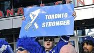 There are some people in the world who just don't get it. In their desire to be clever, they don't look at the big picture. The Toronto Maple Leafs have one such fan.