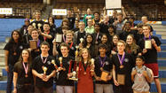 The Glenbard South High School math team placed 3rd in the 3AA division of the Illinois Council of Teachers of Mathematics (ICTM) state math contest on May 4 at the University of Illinois. Glenbard South placed in the top 10 in all 12 events. Nora Rizo, Bob Dobosz and Haresh Harpalani coach the math team.