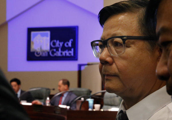 The San Gabriel City Council voted to seat councilman-elect Chin Ho Liao, concluding a series of public hearings sparked by a resident's election fraud complaint.