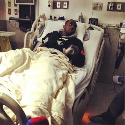 Bulls forward Luol Deng sent this photo out via Twitter to express support for his teammates.