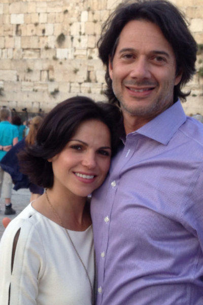 """Once Upon a Time"" star Lana Parrilla and Fred Di Blasio got engaged in Israel on April 28."