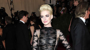 Anne Hathaway goes blond for Met Gala (plus other star hairdos)