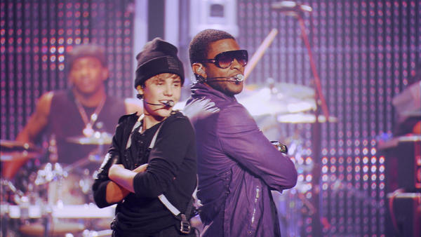 "Justin Bieber, left, and Usher are being sued for copyright infringement over the hit song ""Somebody to Love."""