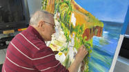 Military-themed mural meant to heal artists, themselves, as well as patients of Lovell FHCC