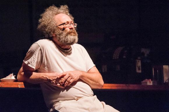 "Richard Cotovsky in Mary-Arrchie Theatre Co.'s 2012 production of ""Superior Donuts."""
