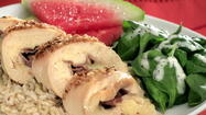 This is a favorite easy-to-make menu from the Orlando Sentinel test kitchen files. The Chicken With Prosciutto & Havarti Cheese makes a nice presentation when served with instant brown rice, a baby spinach salad, fresh fruit (we think watermelon pairs nicely). Have some sparkling wine chilled to toast mom at the top of the meal and serve her favorite white wine with dinner. If there is room for dessert, home baked cookies or a bakery treat do the trick.