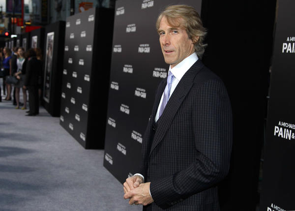 "Director/producer Michael Bay at the Los Angeles premiere of ""Pain & Gain"" at the TCL Chinese Theatre on April 22."