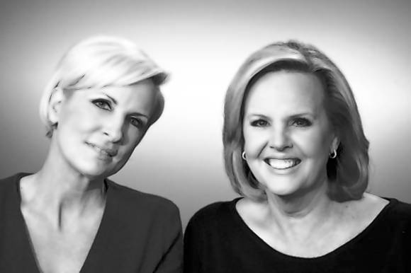 Mika Brzezinski and Diane Smith made a pact about their weight chronicled in 'Obsessed.'