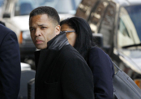 Jesse Jackson Jr. arrives at District Court in Washington to face federal charges.