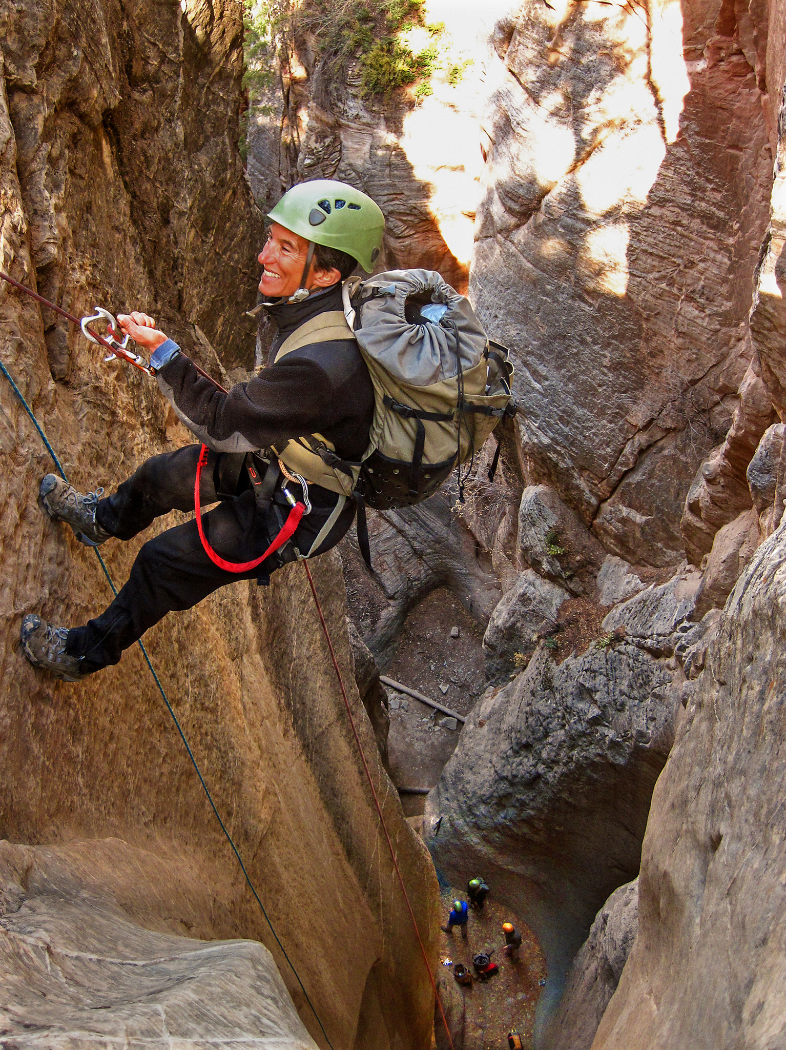 Canyoneering in Utah - Climber