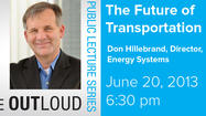 "Learn about the ""Future of Transportation"" on June 20 at Argonne National Laboratory"