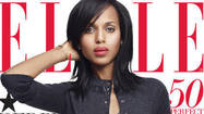 Kerry Washington is looking pretty enviable on the cover of June's Elle magazine.