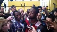 Video: Wade on bouncing back from loss