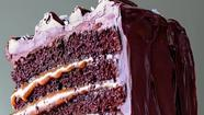 Mother's Day decadent dessert: Salted-Caramel Six-Layer Chocolate Cake
