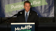 Democrat Terry McAuliffe continued a statewide swing as he formally launched his campaign for Governor. Tuesday, he stopped in Roanoke and Danville to talk about his plan to create more jobs. And he issued a challenge to supporters.