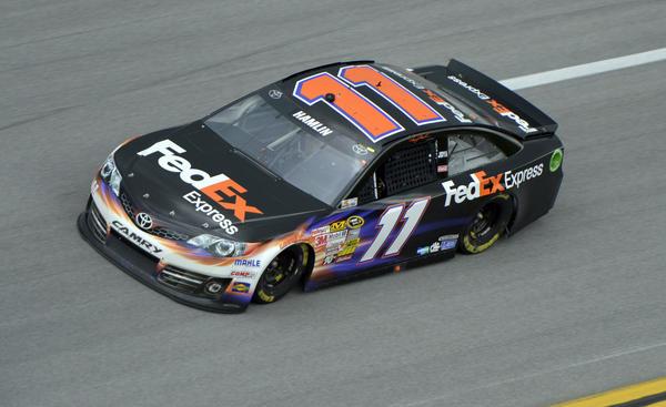 Denny Hamlin's No. 11 car. (USA Today Sports Photo)
