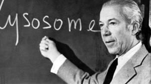 Dr. Christian de Duve dies at 95; Nobel-winning scientist