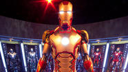 The Iron Man Tech: Presented by Stark Industries exhibit at Disneyland's Innoventions building.