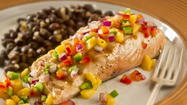 Scott McKenzie & the Morning Mix recipe of the week: Salmon With Mango Salsa