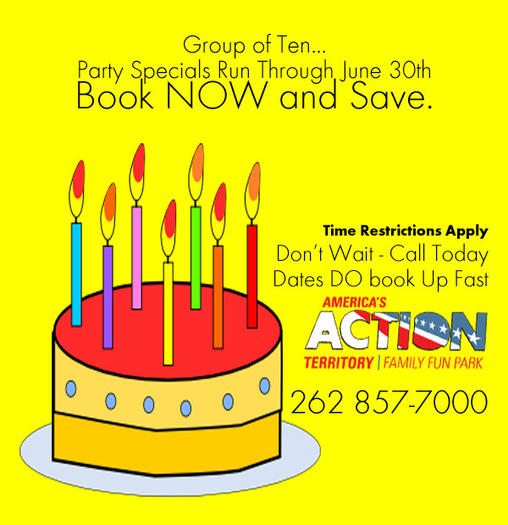 party discount specials through June 2013. Budget Birthday Party Ideas ...