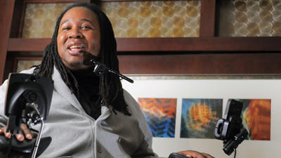 Former Rutgers player Eric LeGrand brings motivational story to…
