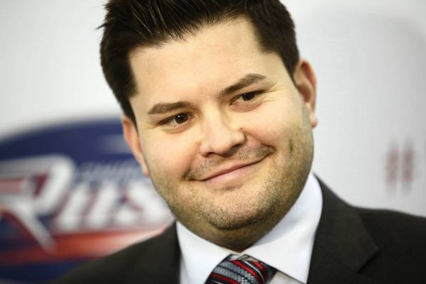 New Chicago Rush owner David Staral Jr. talks to the media in March. After financial problems, he was ousted this month by the Arena Football League.