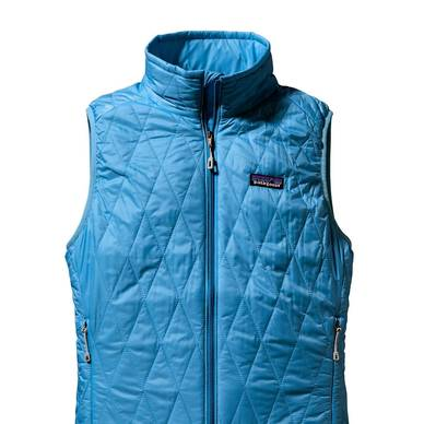 Lightweight and incredibly compressible, Patagonia's Nano Puff Vest ($149, patagonia.com) is described by one male owner as possibly the best outdoor layering product ever created. Two zippered pockets guard a cellphone and IDs, and the entire vest can implode to fit inside its own internal chest pocket with clip-in loop. It's equally popular in the women's style, which, in black, is the go-to for Tracey Lomrantz Lester, women's editorial director of Gilt.com, whenever she travels where the temperatures might dip.