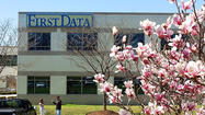 About 30 jobs have been cut at First Data in Hagerstown as part of a restructuring of the company, according to a statement issued Tuesday by the company.