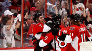 Kyle Turris scored 2:32 into overtime, lifting the Senators past the Montreal Canadiens, 3-2, at Ottawa to grab a 3-1 lead in their playoff series Tuesday night.
