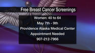 Free Breast Cancer Screenings