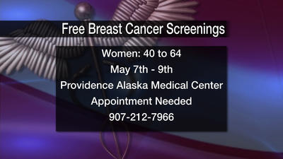 Free Breast Cancer Screenings at Providence until Thursday