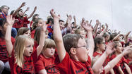Photo Gallery: Junction City Elementary School K-Prep pep rally 050713