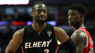Is Dwyane Wade still whining to the refs from Game 1 or has he launched an early crybaby offensive for Game 2?