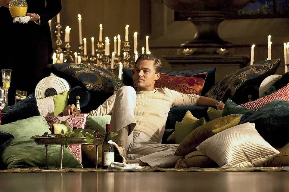 """A scene from """"The Great Gatsby,"""" starring Leonardo DiCaprio."""
